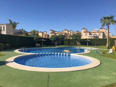 Photo for Quattro house for 4 people near golf and swimming, in Cabo roig, near Torrevieja, wifi