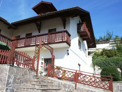 Photo for Holiday home in the Bavarian Forest with terrace, balcony and private entrance