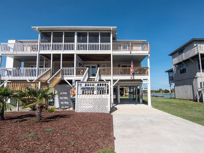 Photo for Watered Down - Marsh, Creek, and Ocean Views; Easy Beach/Marina Access