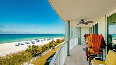 Photo for Long Beach, Tower 3, low floor master on the gulf with a stunning view
