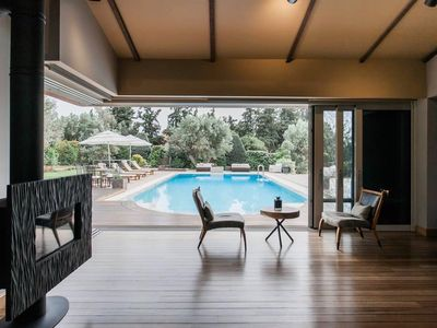 Photo for Stunning Villa with Pool and Garden in Athens