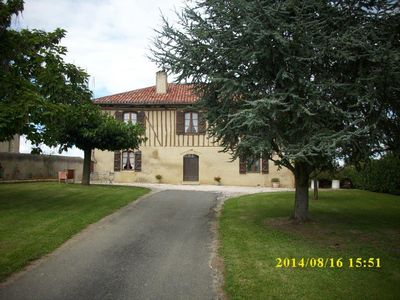 Photo for 3BR House Vacation Rental in Bézues-Bajon, Pays d'Auch
