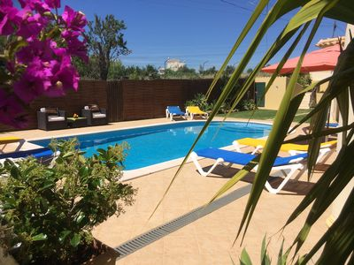 Photo for Air Conditioned BEDROOM WITH BATHROOM, superb villa, pool, Wi-Fi, close old town