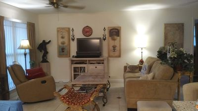 Photo for Spacious Bright Split Plan 2-Bdr Suite Home - Private Yard -Great Location!