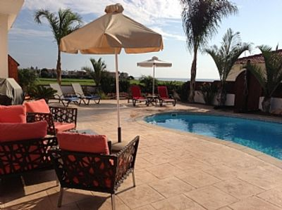 Photo for Bungalow with Private Pool and Garden, Seaside