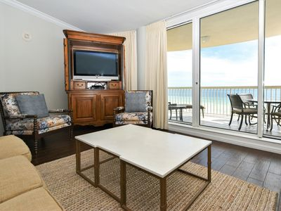 Photo for Beachfront Condo, Newly Updated Interior! Private Beach & Free Beach Service