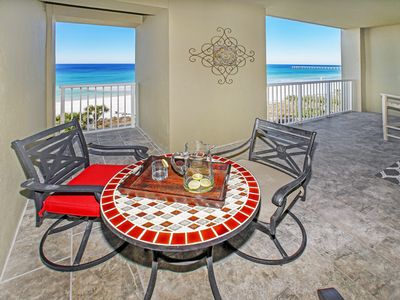 Photo for NEWLY RENOVATED UNIT WITH AMAZING GULF VIEWS! NEW EVERYTHING!