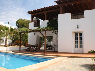 Photo for Luxury detached villa, private pool, WIfi, Quiet Location but close to resort.