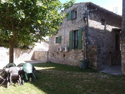 Photo for Small furnished house with enclosed garden near the mediterranean and Cévènnes
