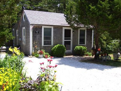 Photo for Wellfleet Cottage, Central Heat/AC, Enclosed Porch, Wooded View near Duck Pond