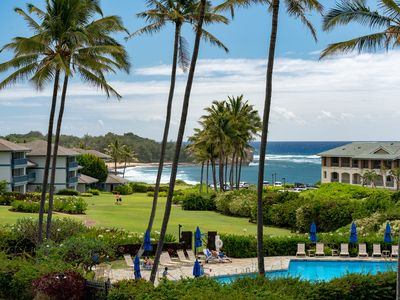 Photo for Poipu Sands 124: Luxury direct oceanview