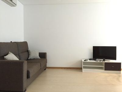 Photo for Galante Beach apartment in Figueira da Foz with WiFi, integrated air conditioning & private parking.