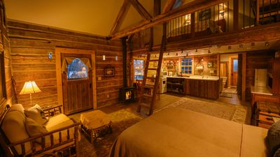 Photo for Cozy, Rustic Cabins near Chico Hot Springs!