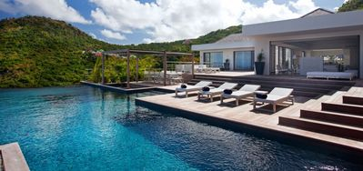 Villa Eternity  -  Ocean View - Located in  Fabulous Flamands with Private Pool