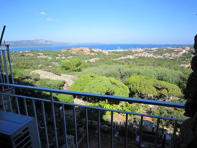 Photo for Porto Rotondo- Apartment for 4, in a fabulous location, beautiful sea view