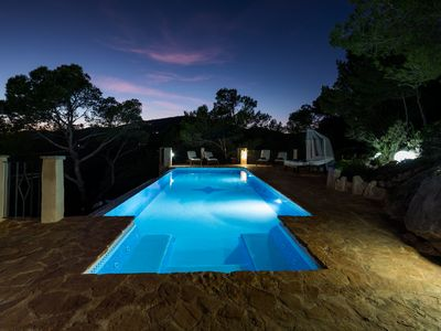 Photo for Villa Piedra near Playa den Bossa and Ibiza Town with Private Pool