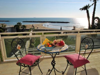 Photo for Vacation home On the beach in Formia - 12 persons, 5 bedrooms