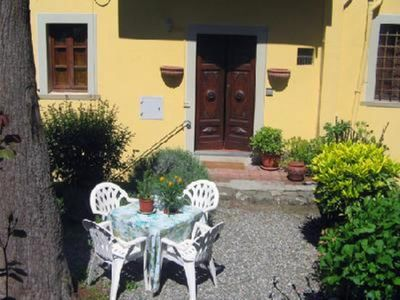 Photo for Barga historical center Charming apartment with garden