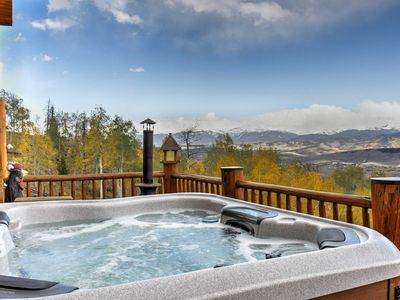 Photo for Secluded Granby Home w/Mtn Views & Private Hot Tub