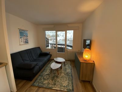 Photo for Cozy renovated cabin studio 4 / 5pers ski at the foot of the slopes