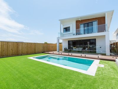 Photo for ★Waterfront★5 Bedroom House with a Pool and View