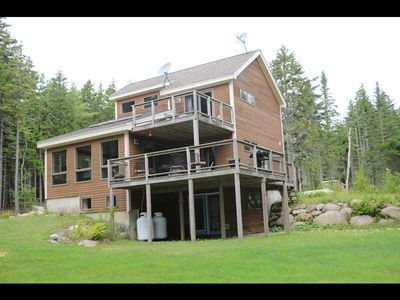 Photo for Secluded Cottage on beautiful Deep Cove with easy shore access!