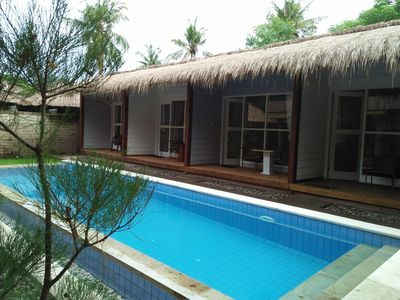 Photo for Private Villa PHYPHY 5 bedrooms Gili T