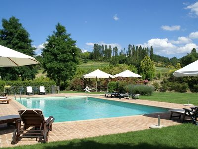 Photo for Spacious Holiday Home in Montone with Swimming Pool