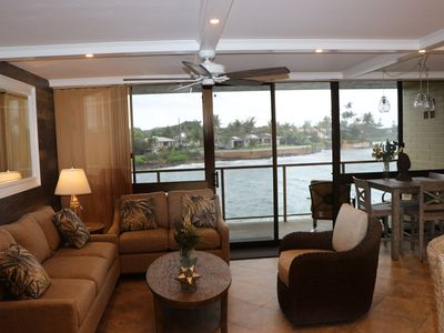 Photo for Stunning Updated Oceanfront Condo with AC!