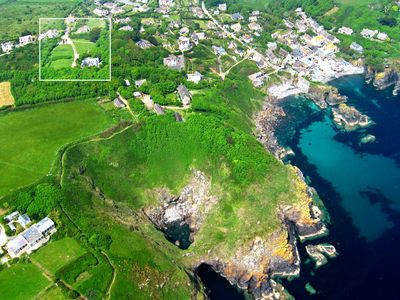 The Coach House, The Cove, & The Devil's Frying Pan on the coast path