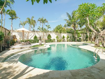 Photo for Balinese private villa with swimming pool at Legian area