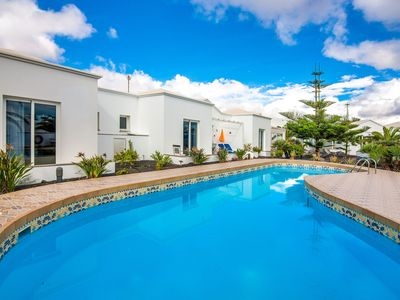 Photo for C3 Luxury Bungalow with pool 100 meters from sea!