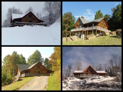 Photo for The Ultimate Mountain Retreat, Secluded 21 acres, Overlooking Shenandoah Valley