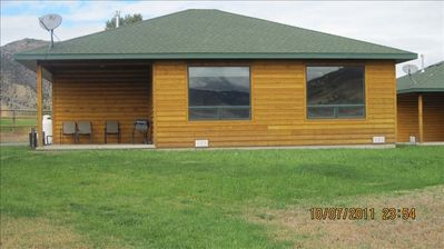 Photo for Gardiner Cabin by Yellowstone Park./  Dates Open