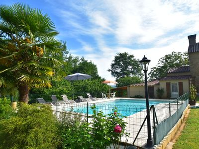 Photo for Cozy Holiday Home in Villefranche-du-Périgord with Pool