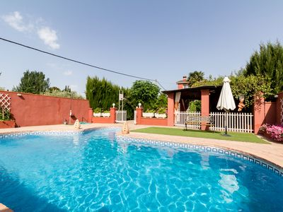Photo for Beautiful house with private pool, views and free wifi
