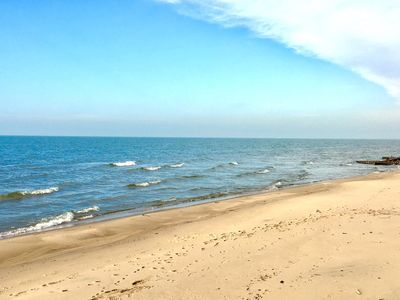 Photo for Beautiful Beachfront Home on Lake Michigan (near South Haven & St Joseph)