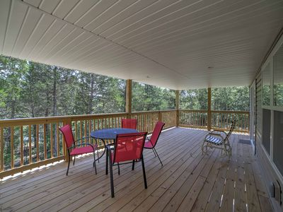 Photo for Galena Lakefront Home w/3 Acres on Table Rock Lake