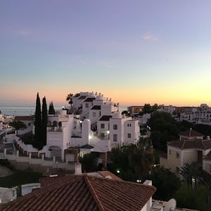 Evening over Burriana, Nerja - view from patio.