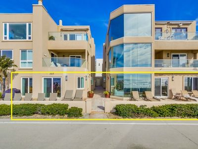 Photo for 75' of Ocean Frontage ★ 2 Exclusive Patios ★ AC