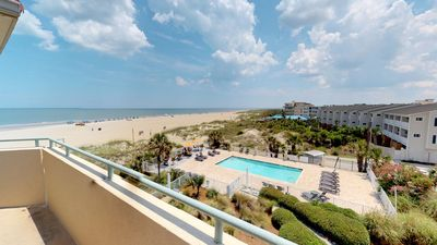 Photo for DeSoto Beach Club Condominiums Unit 309 - Spectacular Views of the Atlantic Ocea