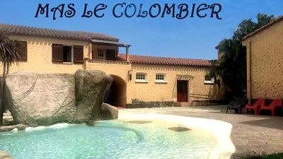 Photo for Mas Le Colombier cottage 6P