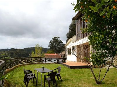 Photo for Lovely rural stone house with panoramic view