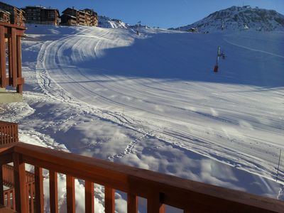 Photo for Triplex Apartment Renovated at the foot of the slopes in Plagne Villages!