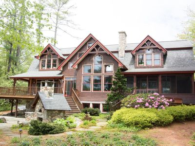 Photo for Luxury Pet-Friendly Lakefront Home for the perfect family lake hideaway!
