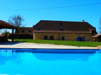 Photo for Quercy farmhouse with swimming pool 'Special Offer'