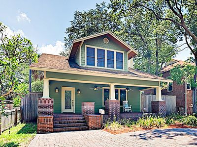 Photo for New Listing! Peaceful Haven w/ Fenced Backyard, Covered Porch, Deck & Patio
