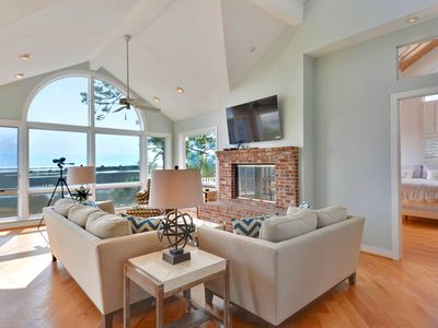 Photo for Luxurious home w/ dock, pool table, decks, & shared pools-dogs OK!