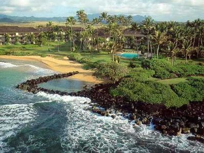 Photo for Claudia's place 2bed 2Bath Wailua Bay Beachfront Condo @ Lae Nani, Kauai, Hawaii