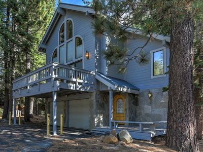 Photo for 'Tahoe Dacha' Truckee Home w/ 5 Decks & Game Room!